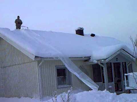 Lumenpudotuslaite Lumihuilu Youtube