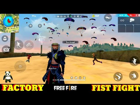 Free Fire Factory Roof - Ff Fist Fight In Factory Challenge Awesome Gameplay [Garena Free Fire] Best