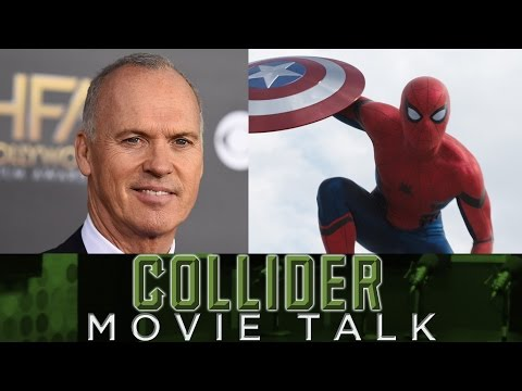 Collider Movie Talk - Michael Keaton No Longer Part Of Spider-Man Homecoming