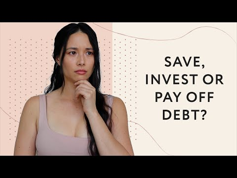 Should I Save, Invest or Pay Off Debt? | Budgeting | Aja Dang