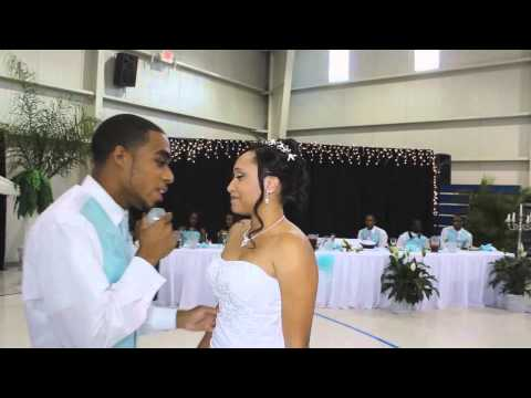 MUST SEE!! Titus Sings LUTHER VANDROSS During First Dance!!