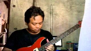 JKT 48 Suifu wa Arashi ni Yume wo Miru Guitar solo Cover by Agus Pindo