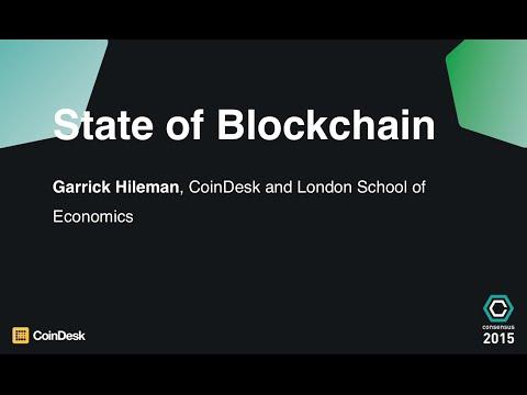 Garrick Hileman: State of Blockchain, Consensus 2015