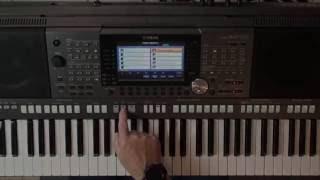 YAMAHA PSR - S970 Workshop 15 - Bass-Spur Im Rhythmus Austauschen