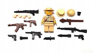 Лего Индиана Джонс Все виды оружия от Стефана | LEGO Indiana Jones @SteFanChico TV
