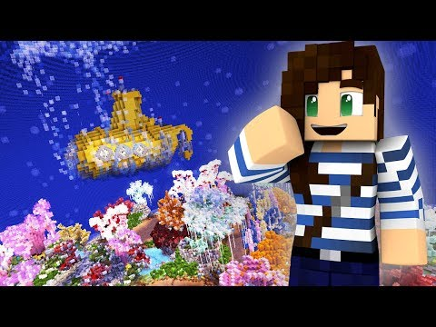 Secret Underwater Oasis Minecraft Build!