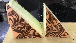 Bếp Bánh TV || Chia Sẻ Cách Làm Bông Lan Tam Giác Thực Tế