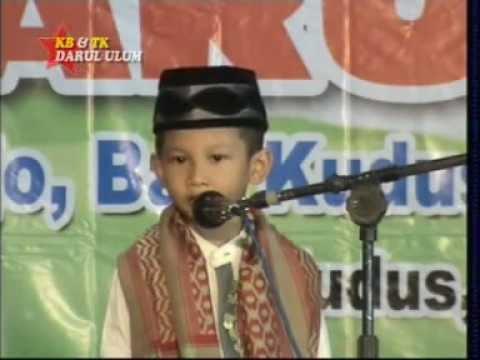 Ihsan Pidato Anak Tk Darul Ulum Kudus Youtube