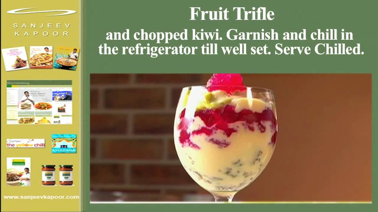 Fruit triffle youtube fruit triffle sanjeev kapoor khazana forumfinder Gallery