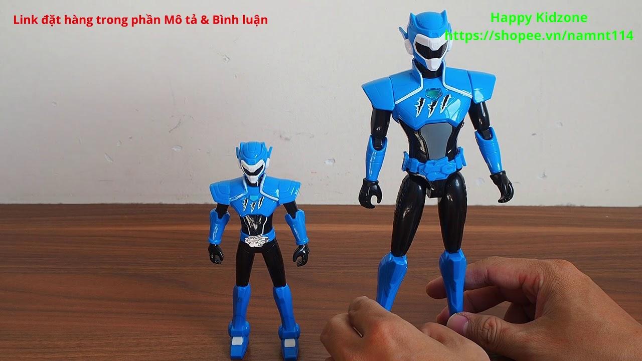 Miniforce: Super Dino Power Biệt đội siêu nhân nhí 3 – Combo thiết bị biến hình & action figure