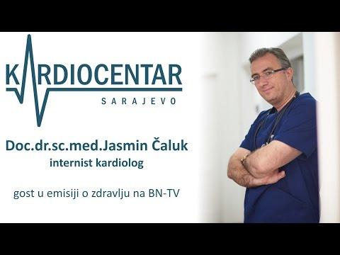 Prof.Dr. Jasmin Čaluk: Kardiovaskularne bolesti (cijela TV-emisija), gostovanje na BN TV