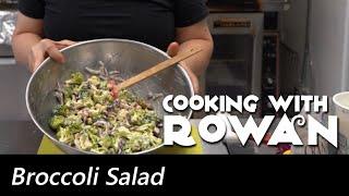 Broccoli Salad - Cooking with Rowan