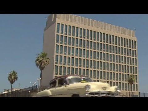 Exclusive Look Inside U.S. Embassy In Havana