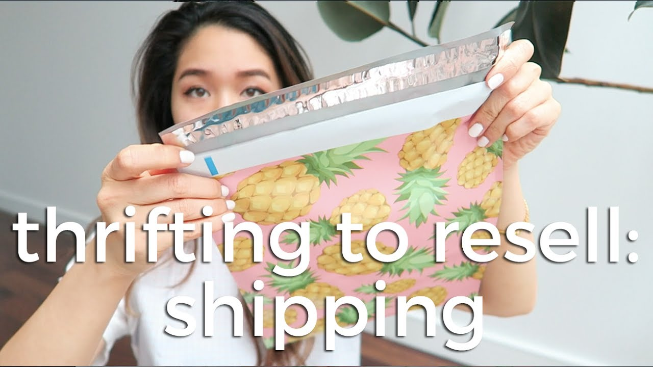 ec4a161d88d How I Pack and Ship Clothes for Ebay and Poshmark - YouTube