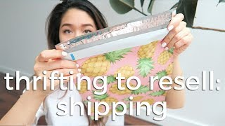How I Pack and Ship Clothes for Ebay and Poshmark