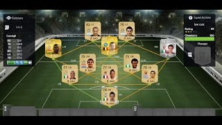 FIFA 15 - Serie A Low Cost Squad builder