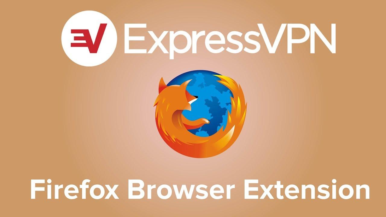 ExpressVPN Firefox browser extension setup tutorial