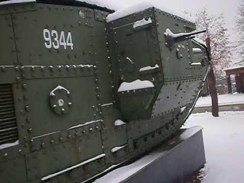 "Британский танк Mark V - ""Рикардо"""