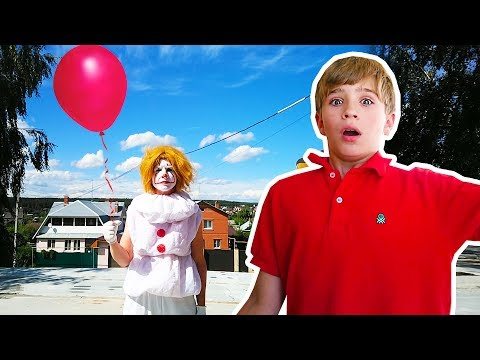 Pasha's nightmare , IT (ESO) & RED balloon, parody
