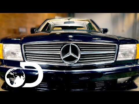 Mike Brewer Finds A 1983 Mercedes 500 SEC To Restore | Wheeler Dealers Monday 9pm | Discovery UK