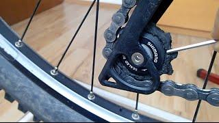Schaltwerk reinigen am Fahrrad (Teil 1) - Antrieb reinigen