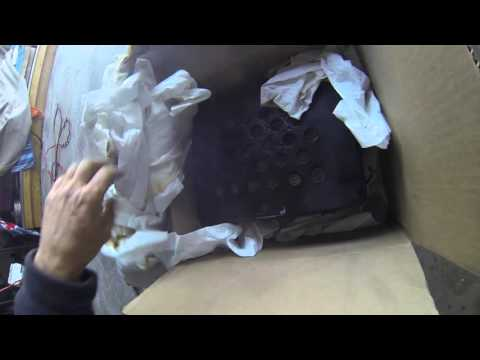 BAT-SAFE (raw footage) lipo ignition covered in paper tissue
