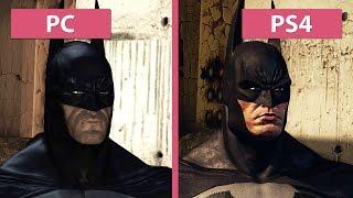 Batman Arkham Asylum – PC vs. PS4 Return to Arkham Remaster Graphics Comparison