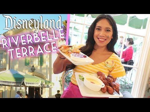 Finally!! Dining at Disneyland's River Belle Terrace Restaurant!