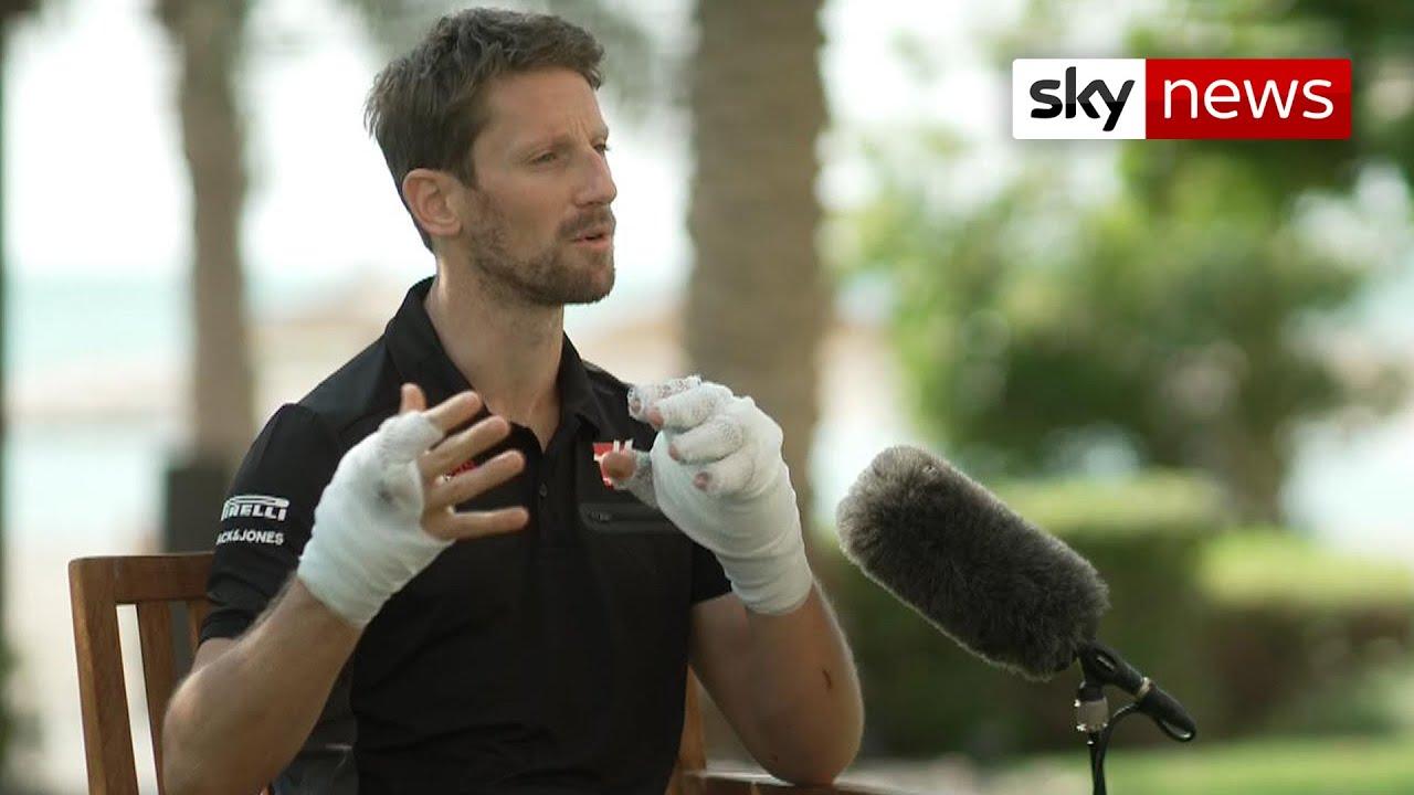 Download Romain Grosjean: I was thinking... I'm dead