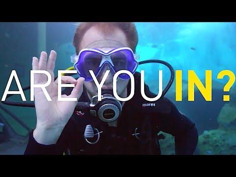 Scuba Diver Finds Adventure & Challenge as INEOS Graduate