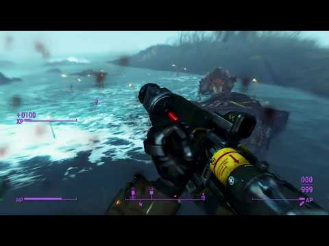 Fallout 4 Blind - Part 152 (Fighting Shipbreaker! Explosive bullets are OP.)