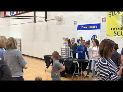 The Stanley Cup visits Olentangy Shanahan Middle School