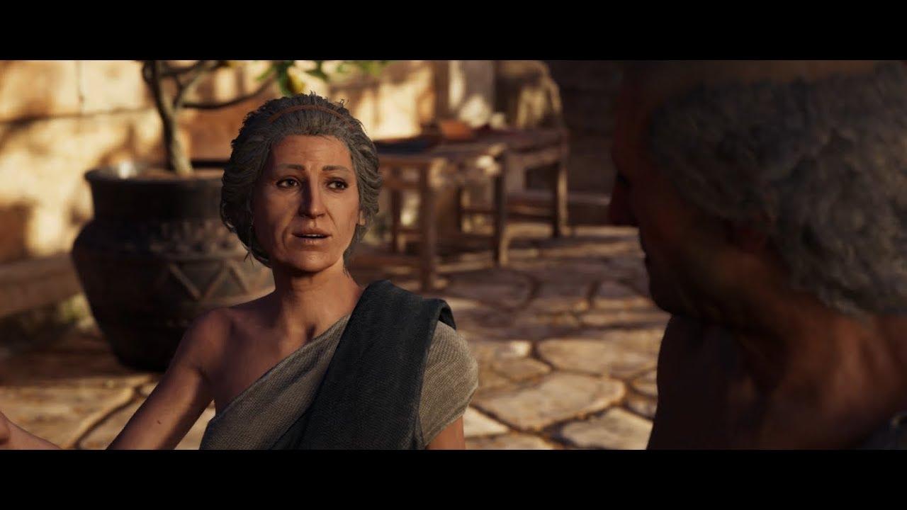 Assassins Creed Odyssey Diona Romance (Kassandra