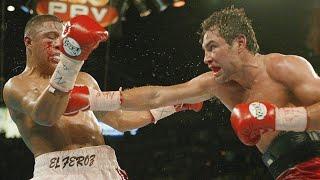 Легендарные бои: Де Ла Хойя-Варгас (2002)   FightSpace