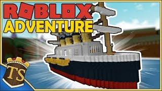 Dansk Roblox | Build A Boat For Treasure - Titanics Jomfrurejse!