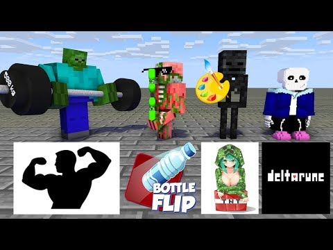 Monster School : SEASON 3 ALL EPISODE - Minecraft Animation