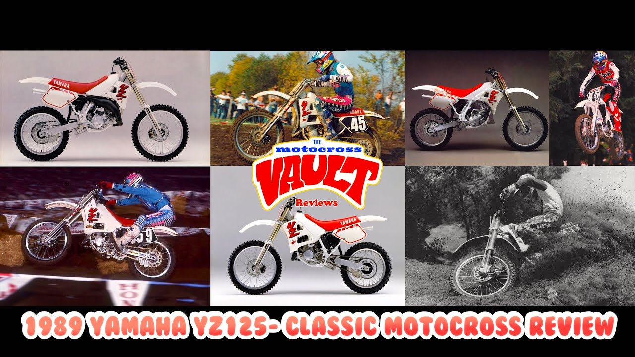 1989 Yamaha YZ125 - Classic Motocross Review