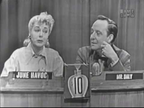 What's My Line? - June Havoc; Steve Allen's first reference to a bread box! (Jan 18, 1953)