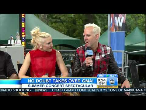 No Doubt - Interview [Good Morning America 27 July 2012] HD 720p