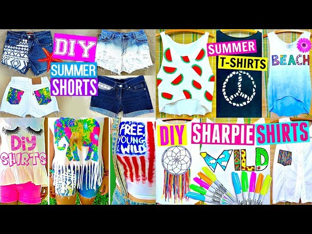 10 DIY CLOTHES IDEAS