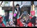 荻野目洋子&登美丘高校ダンス部「バブリーダンス」 御堂筋ランウェイ 2017.11 大阪/ダンシングヒーロー