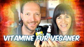 Vegane Vitamine - Eisen, Kalzium, B12, D3, Zellstoff (Q&A #1)