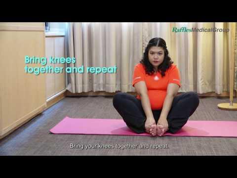 4 Exercises for Pelvic Girdle Pain (Part 1) - YouTube