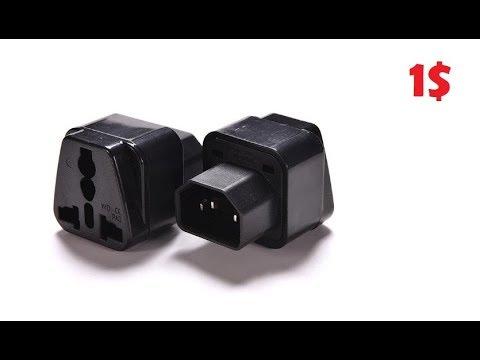 🔌 Адаптер IEC 320 в C14 Конвертер, Переходник для UPS / РАСПАКОВКИ 🔋