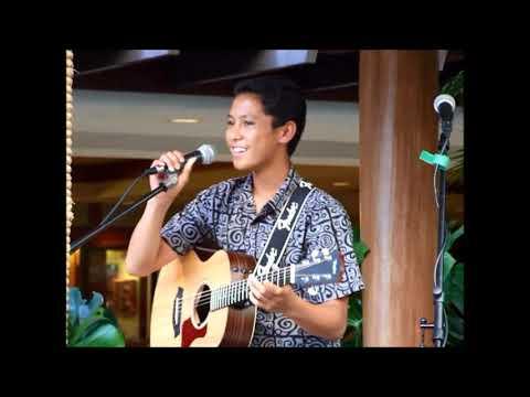 14 yr. old Hawaiian Slack Key Guitar Player - Jonah Domingo