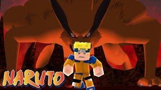 Minecraft: Naruto C - NARUTO CONVERSOU COM A KYUBI #12