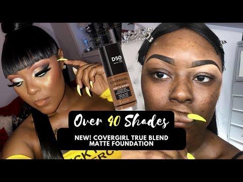 New Covergirl Matte True Blend Foundation + Eye Look | Briana Marie