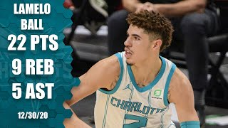 LaMelo Ball puts up career-high 22 points, 9 rebs & 5 assists vs. Mavs [HIGHLIGHTS] | NBA on ESPN