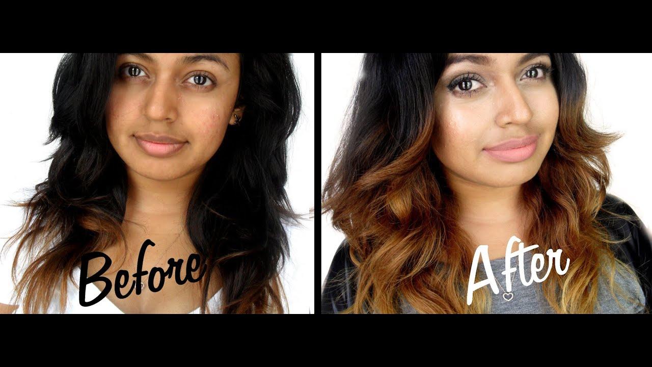 Light To Dark Ombre Hair