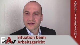 Mandantenvideo: Situation beim Arbeitsgericht | Fachanwalt Bredereck